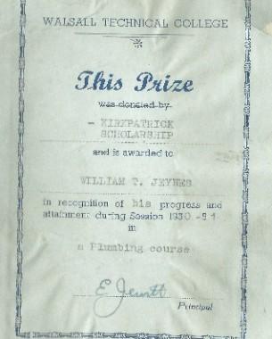 Snippet of Kirkpatrick Ltd History – Kirkpatrick Scholarship Update